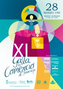 Cartel XI Gala del Comercio