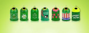 contenedores recicla vidrio