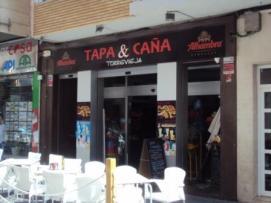 TAPA & CAÑA c/María Parodi 18 TLF: 865 600 519 tyc.torrevieja@gmail.com
